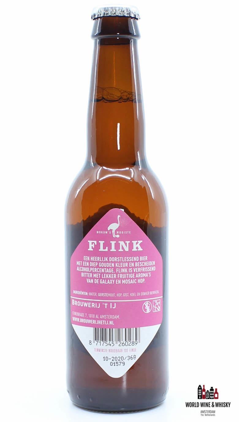 Brouwerij 't IJ Brouwerij 't IJ Flink 4,7% 33cl (Beer from Amsterdam)