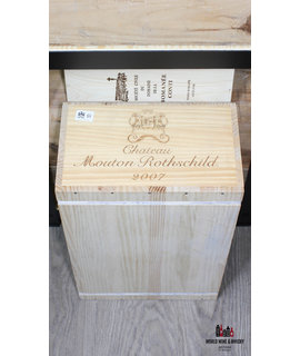 Mouton Rothschild Chateau Mouton Rothschild 2007 (sealed 12-bottles OWC)