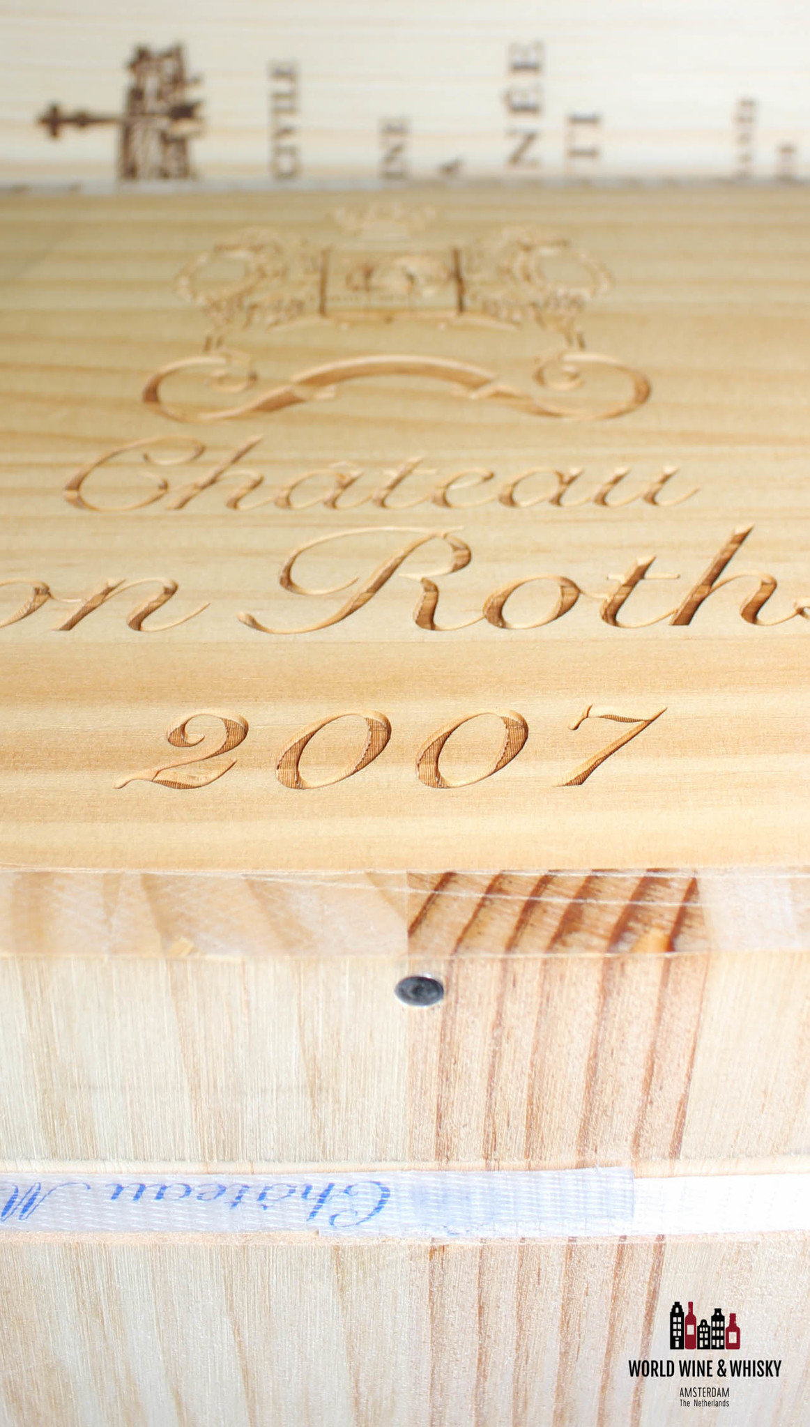 Mouton Rothschild Chateau Mouton Rothschild 2007 (sealed 12-bottles OWC)
