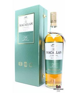 Macallan Macallan 25 Years Old - Fine Oak - Triple Cask Matured 43% (in luxury case)