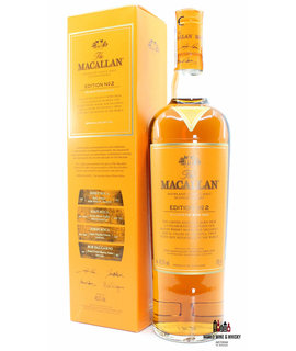 Macallan Macallan Edition No 2 2016 48.2% 700ml (in cardboard case)