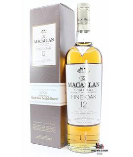 Macallan Macallan 12 Years Old - Fine Oak 40% 700ml (in cardboard case)