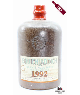 Bruichladdich Bruichladdich 12 Years Old 1992 2004 Ceramic Jug 46% (one of 600 bottles)
