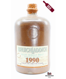 Bruichladdich Bruichladdich 14 Years Old 1990 2004 Ceramic Jug 46% (one of 600 bottles)