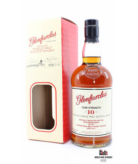 Glenfarclas Glenfarclas 10 Years Old 2013 Cask Strength - 10th Anniversary International Malt Whisky Festival Gent 60%