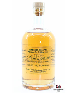 Glenglassaugh Glenglassaugh 2009 The Spirit Drink that blushes to speak its name - New Spirit 50% (one of 8000 bottles)