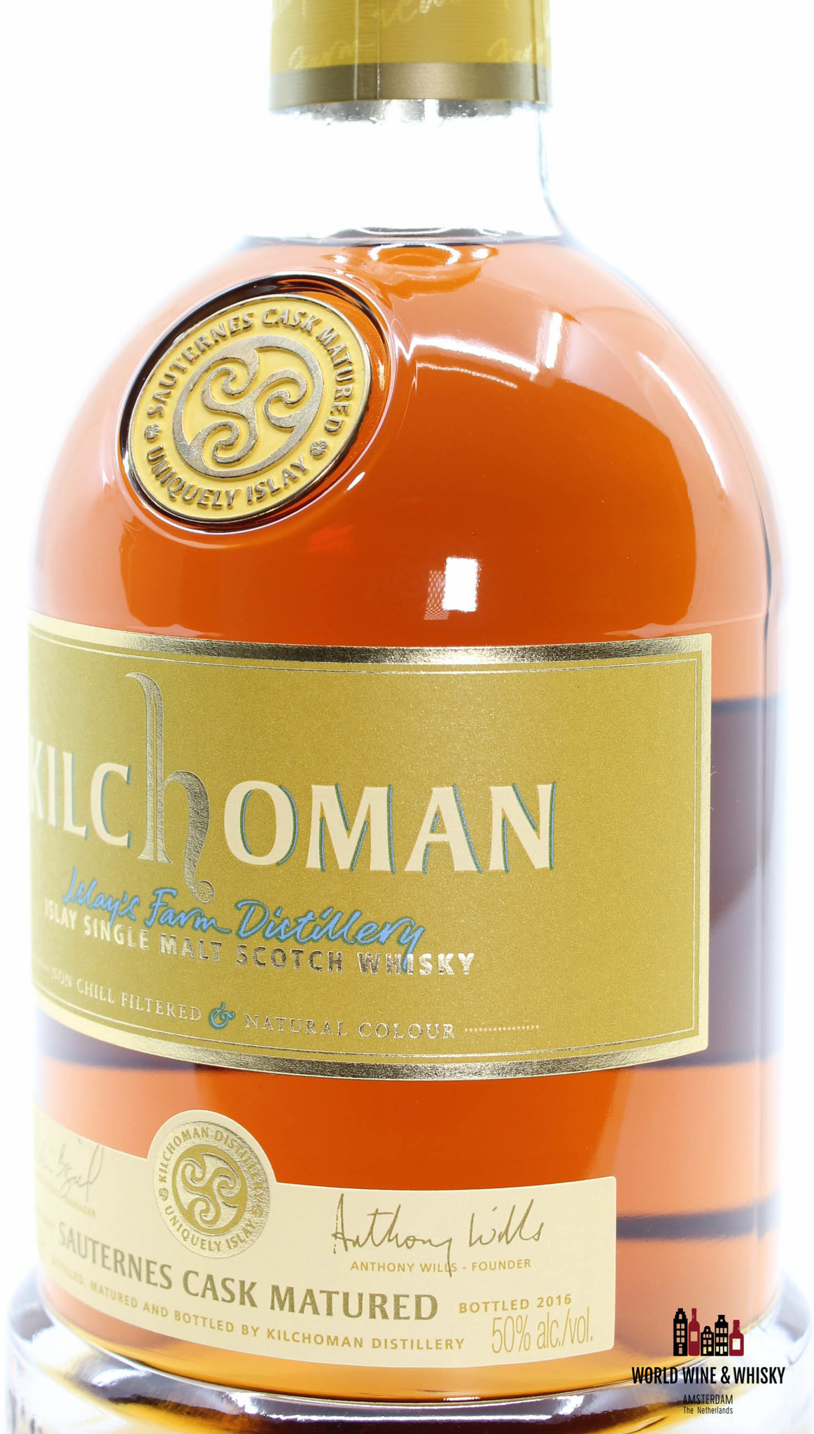 Kilchoman Kilchoman 5 Years Old 2011 2016 Sauternes Cask Matured 50% (one of 6000 bottles)