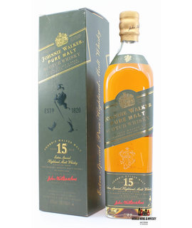 Johnnie Walker Johnnie Walker 15 Years Old Pure Malt - Extra Special Highland Malt Whisky 43% (old label)