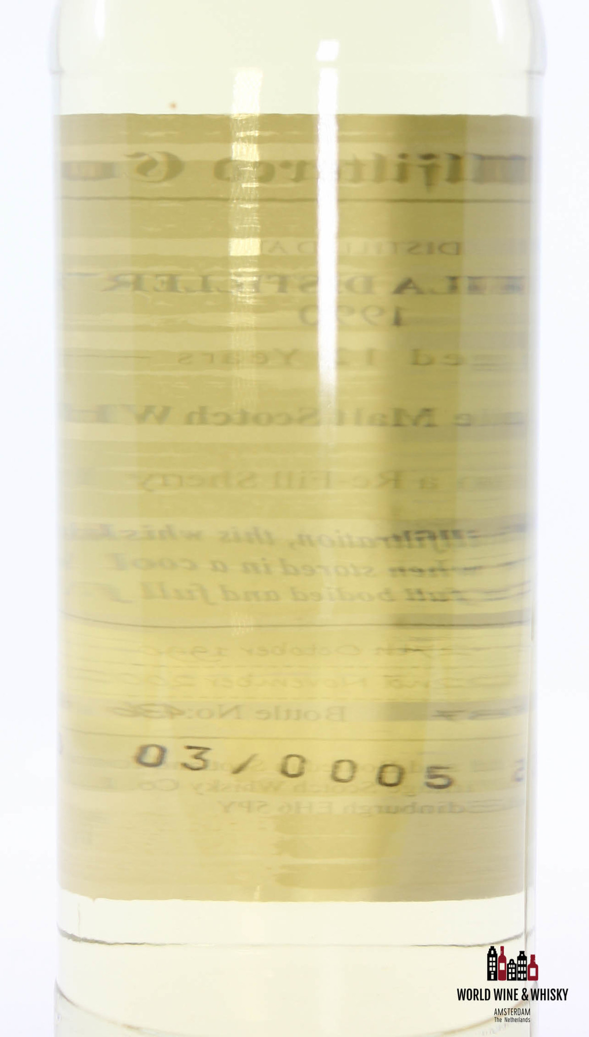 Caol Ila Caol Ila 12 Years Old 1990 2002 Signatory Vintage - Cask 13937 46% (one of 851 bottles)