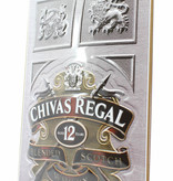 Chivas Regal Chivas Regal 12 Years Old Billboard Plate Sign - Blended Scotch Whisky