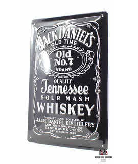 Jack Daniel's Iron Jack Daniel's Billboard Plate Sign - Old Time - Old No.7 Brand