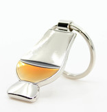 Whisky glass Traditional luxury whisky glass keychain accessory