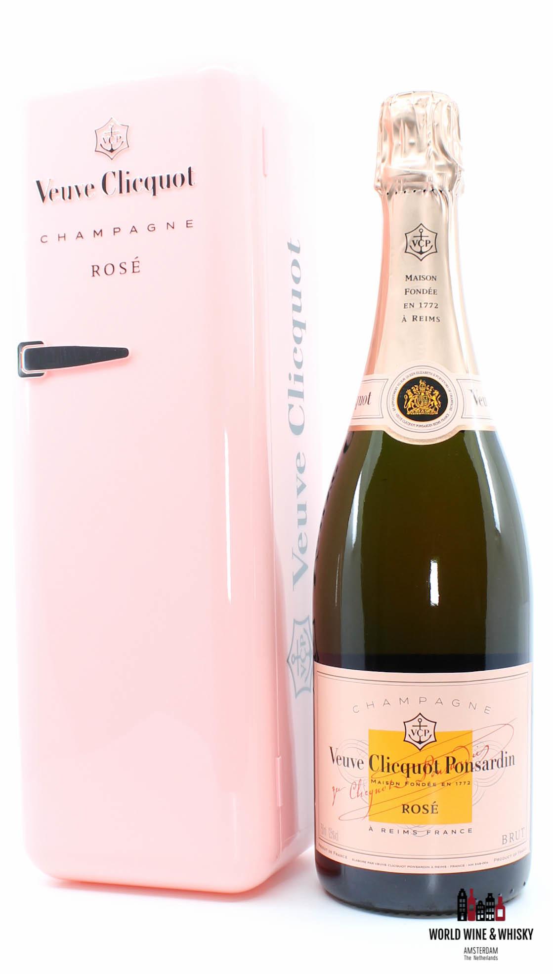 Veuve Clicquot Veuve Clicquot Champagne Brut - in Rose (pink) fridge