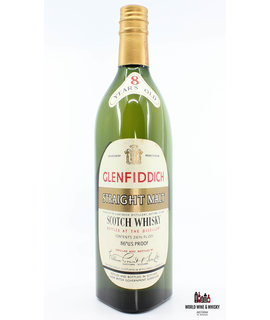 Glenfiddich Glenfiddich Straight Malt 8 Years Old - Bottled in 1960 - 86 U.S. Proof (8 YO label in neck)