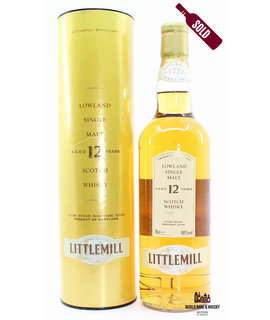 Littlemill Littlemill 12 Years Old - Old Edition 40% 700ml (in yellow case)
