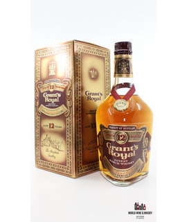 Grant's Royal Grant's Royal 12 Years Old - Finest Scotch Whisky 75cl - 86 U.S. Proof 43% (Gold Edition)