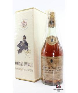 Cognac Favraud Cognac Favraud La Marque du Chateau Vieille Réserve 40% (From the 50s/60s)