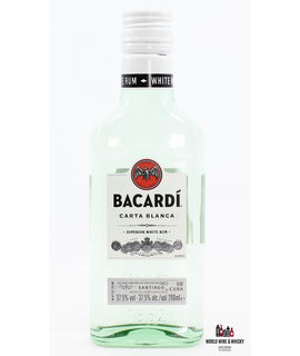 Bacardi Bacardi Carta Blanca - Superior White Rum 37,5% 200ml (small bottle)