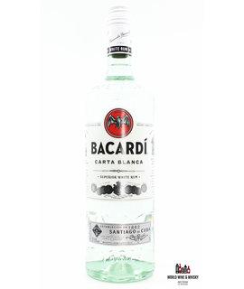 Bacardi Bacardi Carta Blanca - Superior White Rum 37,5% 1L (1000 ml)
