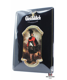 Glenfiddich IJzeren Glenfiddich Scotch Whisky - Clan Montgomerie Billboard Plate Sign reclamebord