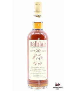 Balblair Balblair 20 Years Old 1990 2010 - Bladnoch Forum - Cask 166 53.7%