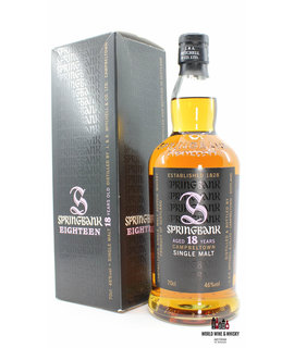 Springbank Springbank 18 Years Old 2010 - Purple Big S - 46% (one of 9000 bottles)