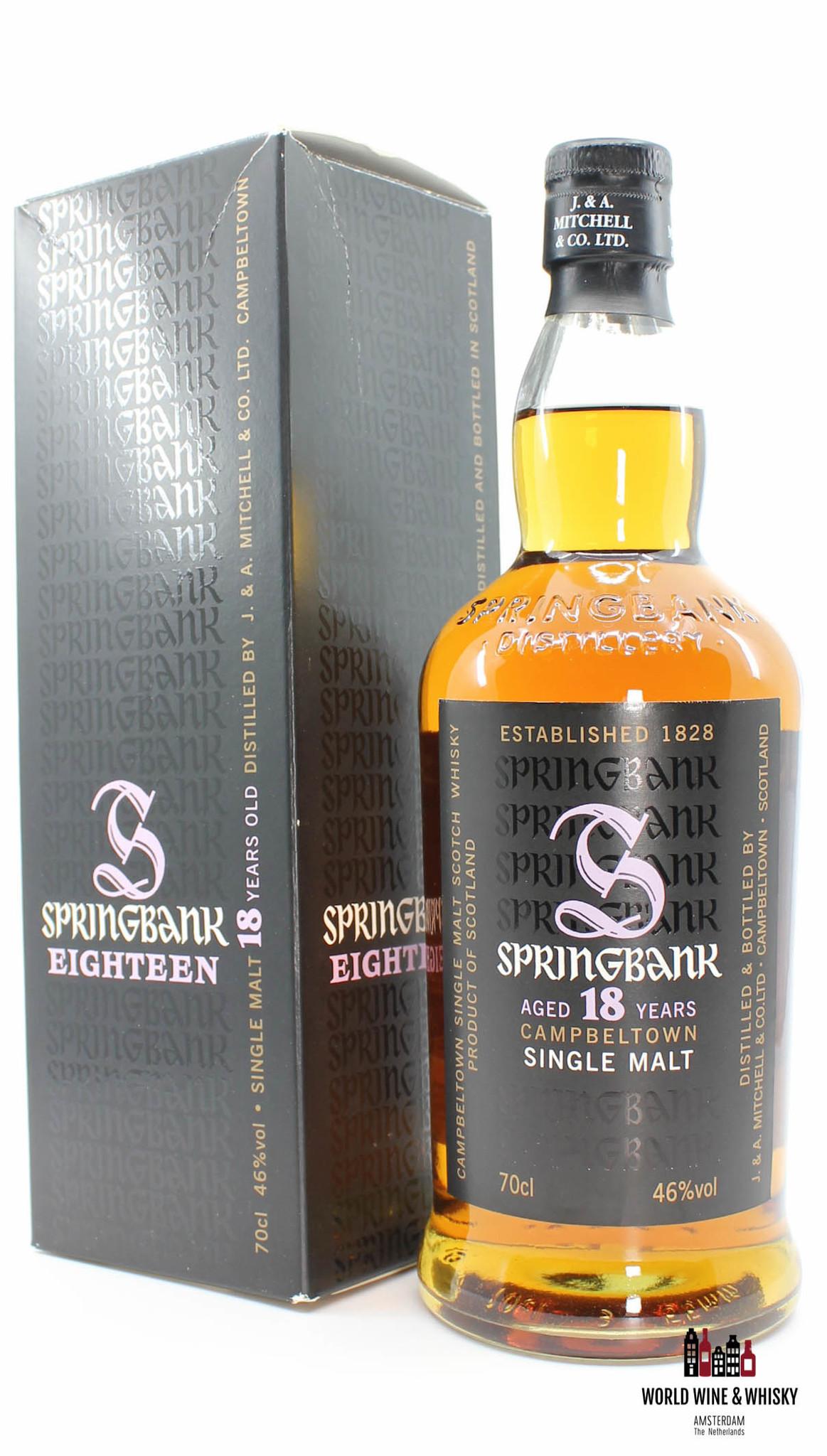 Springbank Springbank 18 Years Old 2010 - Purple Big S - 46% (one of 9000 bottles)