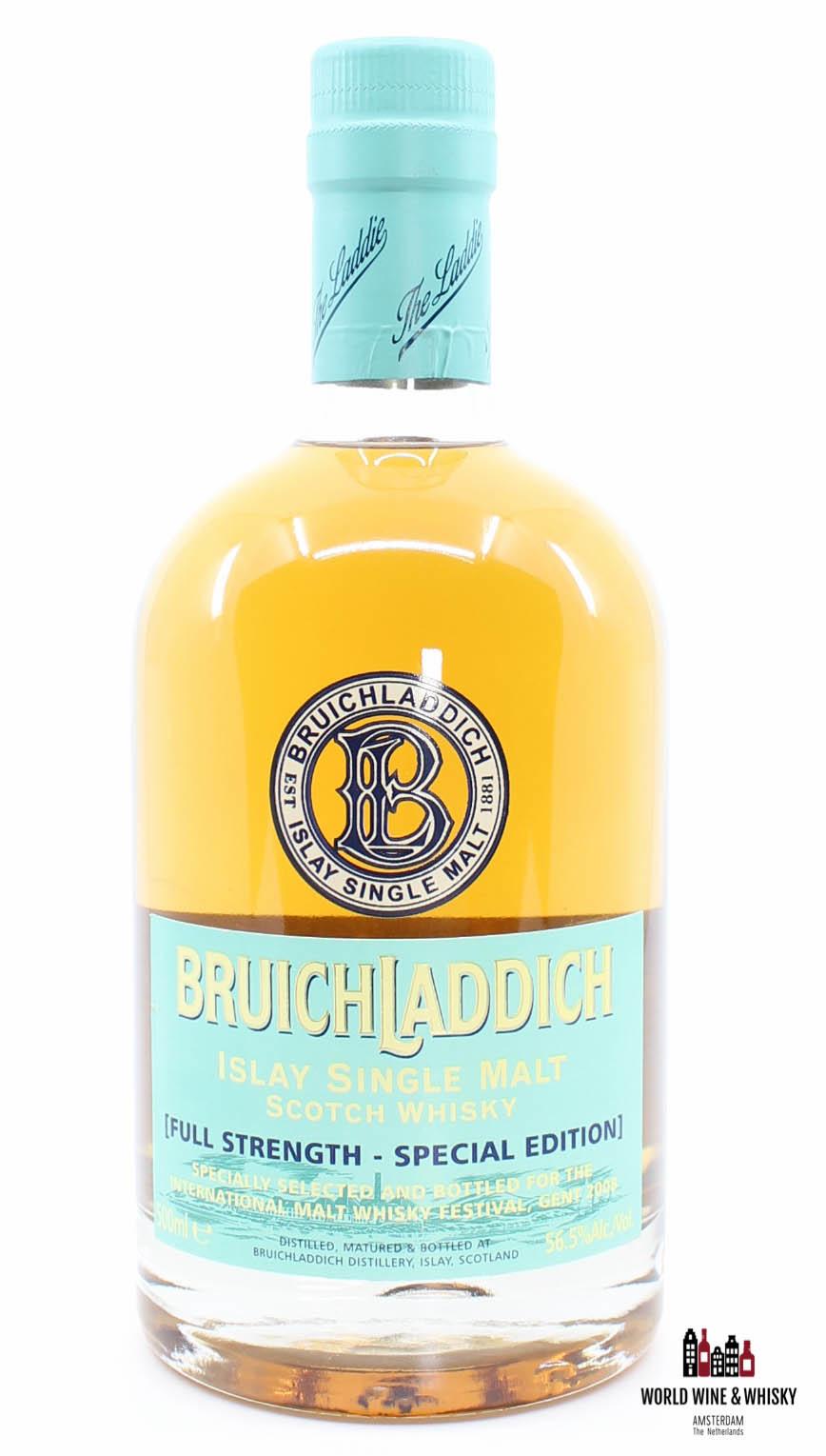 Bruichladdich Bruichladdich 2008 Full Strength - Special Edition - International Malt Whisky Festival Gent 56.5%