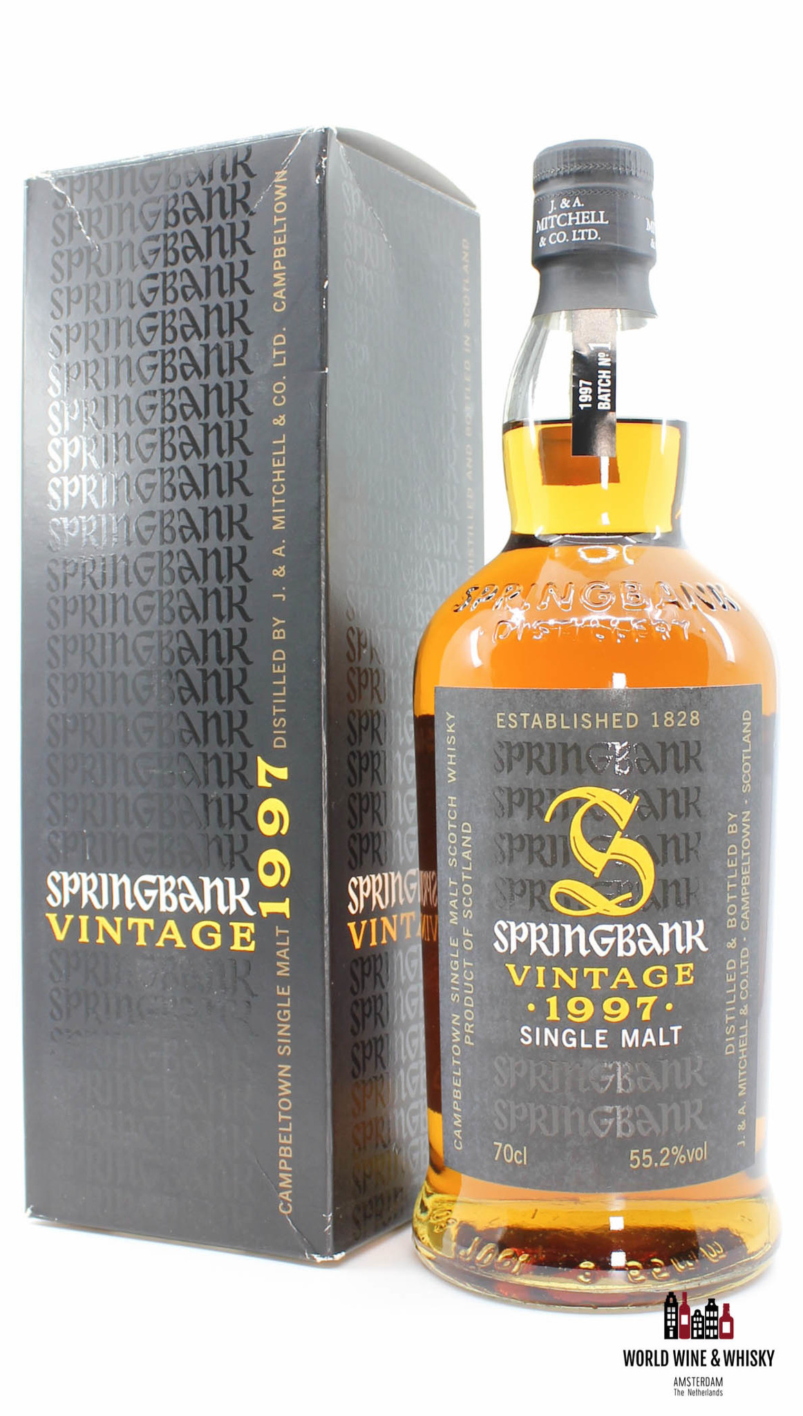 Springbank Springbank 10 Years Old 1997 2007 Vintage - Batch No. 1 - 55.2%