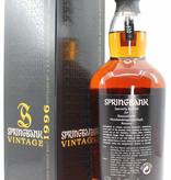 Springbank Springbank 13 Years Old 1996 2009 Vintage - Cask 263 Hanseatische Weinhandelsgesellschaft 54.9%