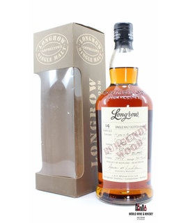 Springbank Longrow 14 Years Old 1997 2011 Burgundy Wood 56.1% (one of 7800 bottles)