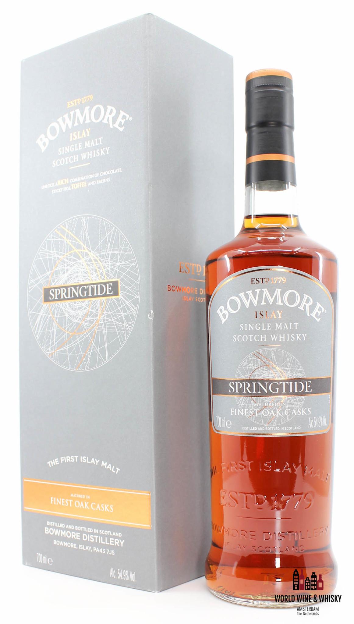 Bowmore Bowmore Springtide 2016 - Finest Oak Casks 54.9% (one of 4000 bottles)
