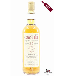 Caol Ila Caol Ila 25 Years Old 1984 2010 - Bladnoch Forum - Cask 5390 52.4%