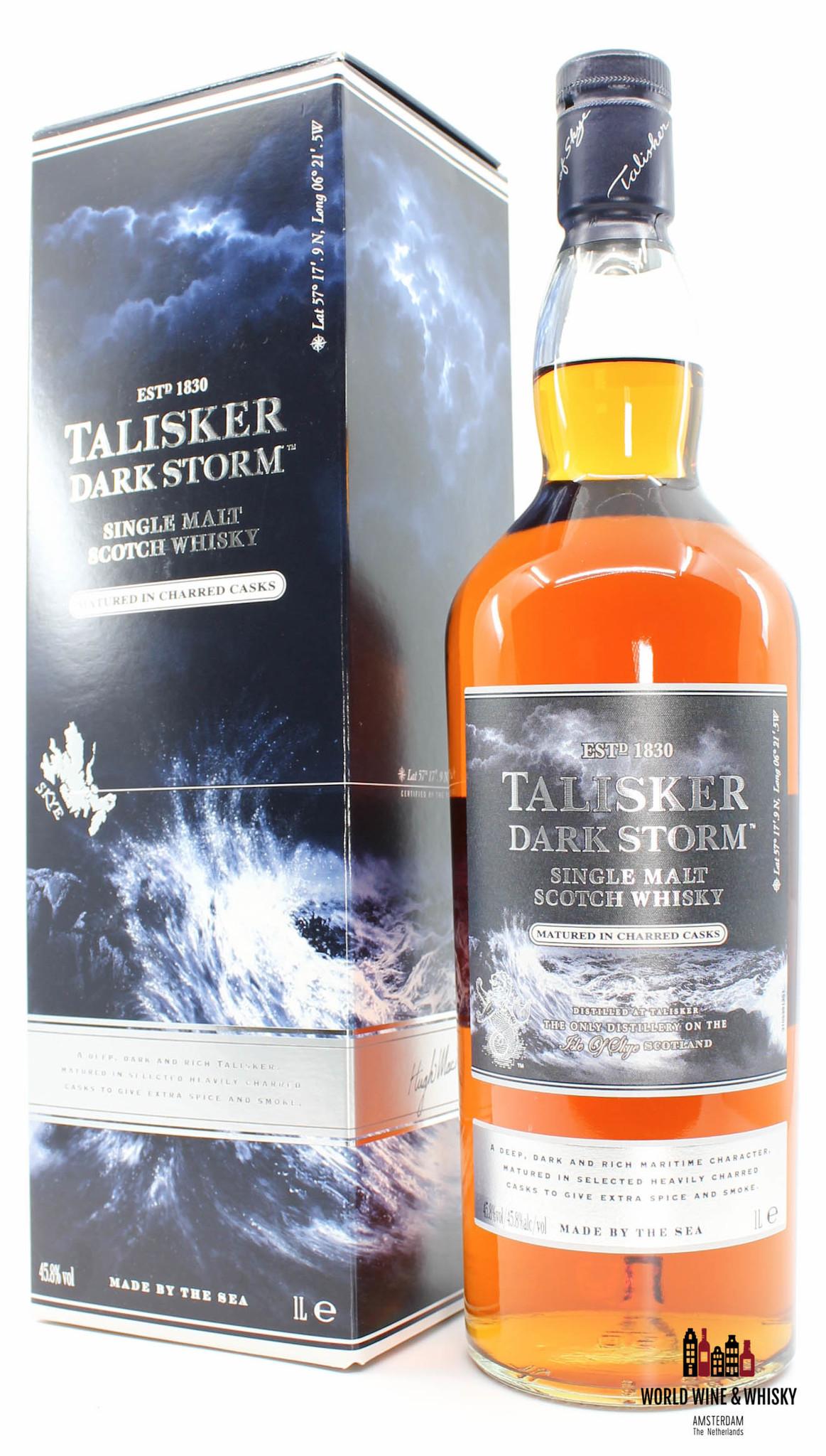 Talisker Talisker Dark Storm 2014 - Travel Retail Exclusive  45.8% 1 Litre (1000 ml)