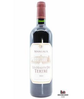 Chateau du Tertre Chateau du Tertre - Les Hauts du Tertre 2005 (Second wine)