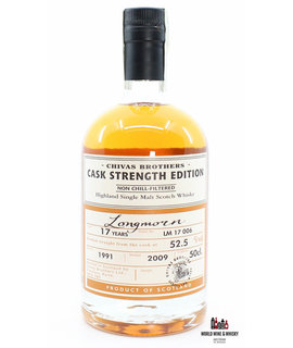Longmorn Longmorn 17 Years Old 1991 2009 Batch LM 17 006 - Chivas Brothers - Cask Strength Edition 52.5%
