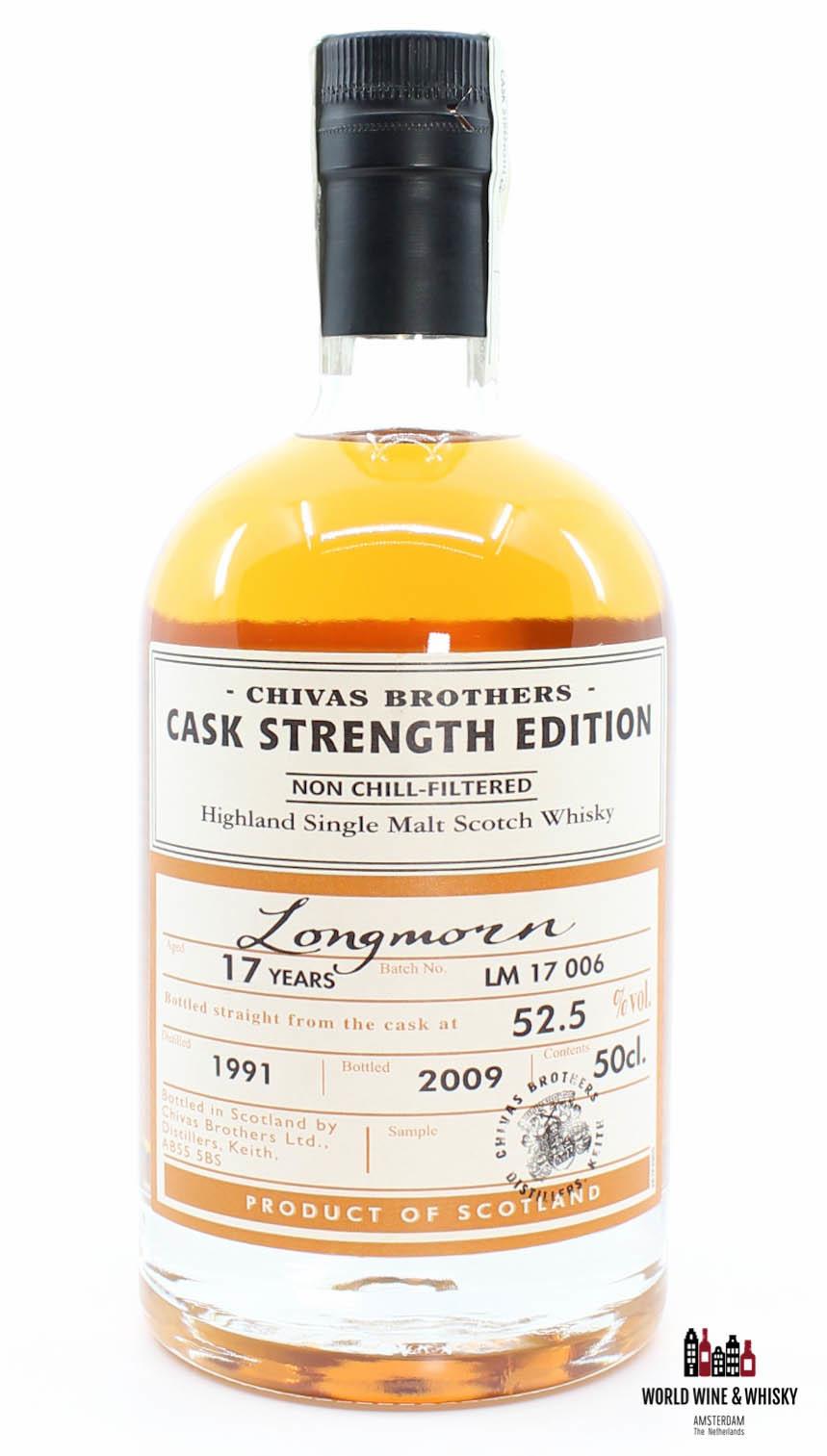 Longmorn Longmorn 17 Years Old 1991 2009 Batch LM 17 006 - Chivas Brothers - Cask Strength Edition 52.5%