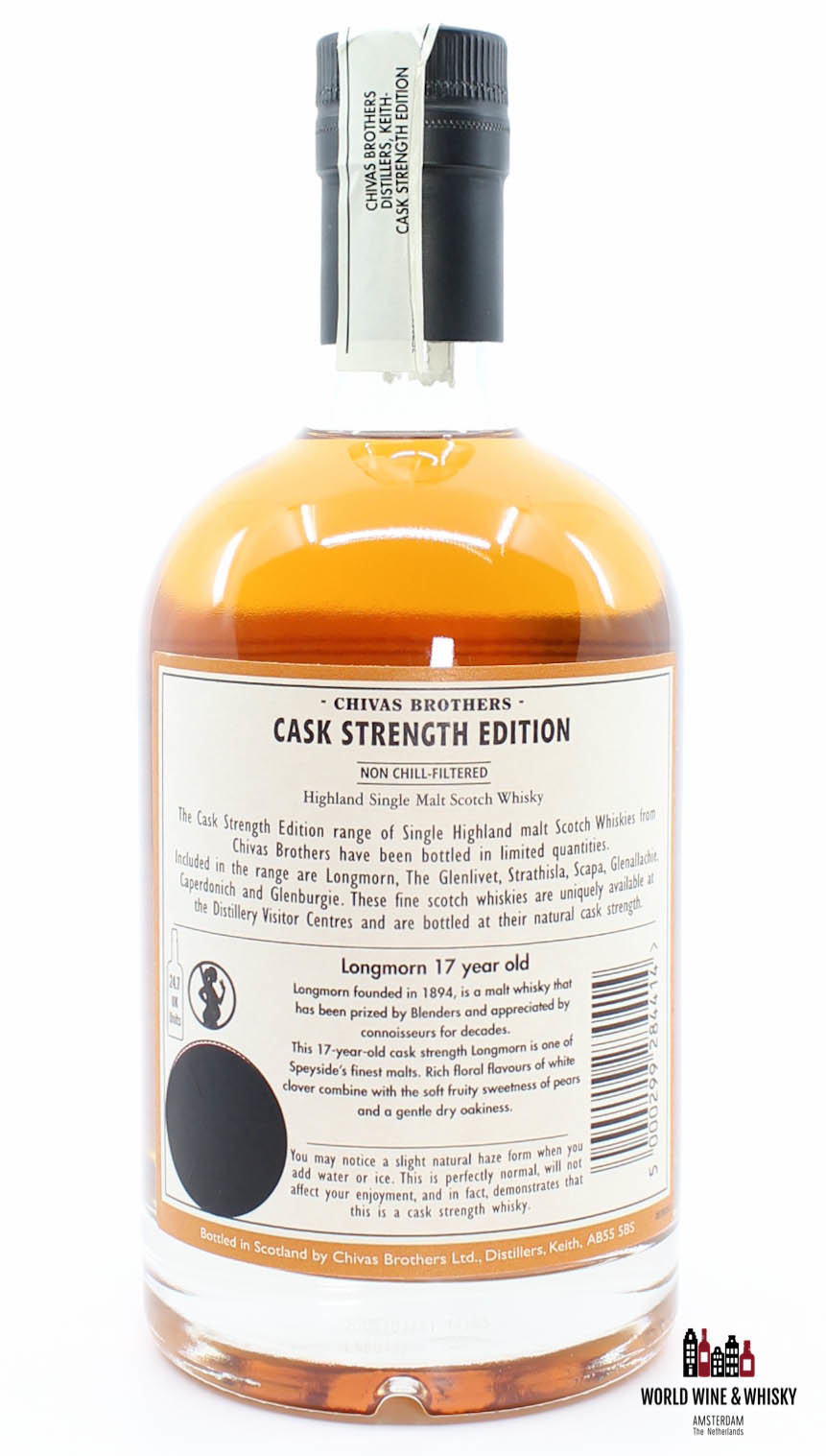 Longmorn Longmorn 17 Years Old 1991 2008 Batch LM 17 005 - Chivas Brothers - Cask Strength Edition 49.4%