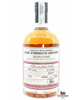 Strathisla Strathisla 14 Years Old 1993 2008 Batch SI 14 006 - Chivas Brothers - Cask Strength Edition 54.9%