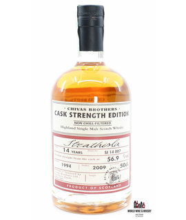 Strathisla Strathisla 14 Years Old 1994 2009 Batch SI 14 007 - Chivas Brothers - Cask Strength Edition 56.9%