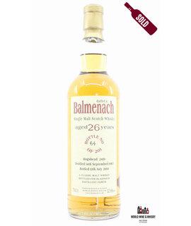 Balmenach Balmenach 26 Years Old 1983 2010 - Cask 2410 - Bladnoch Forum 52.8%