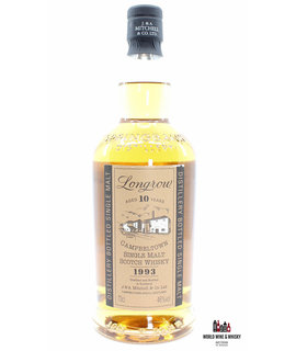 Springbank Longrow 10 Years Old 1993 2003 Campbeltown Single Malt 46% (Springbank) - Without the case