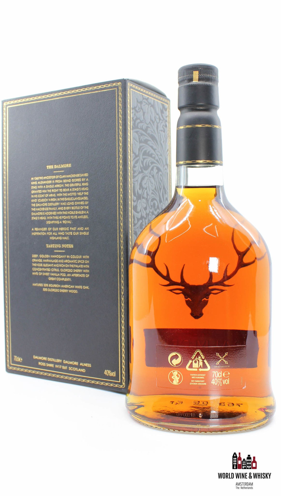 Dalmore Dalmore 12 Years Old - Golden Mahogany 2008 40% (700 ml)