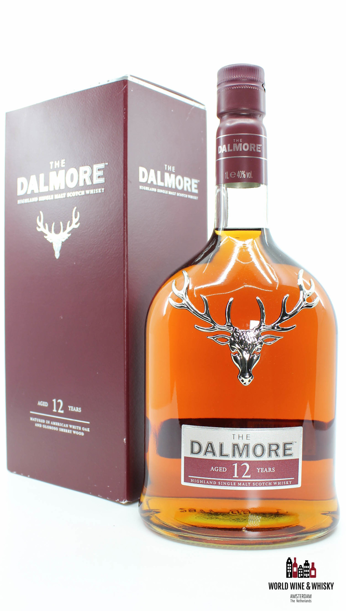 Dalmore Dalmore 12 Years Old 40% 1 Litre (1000 ml)