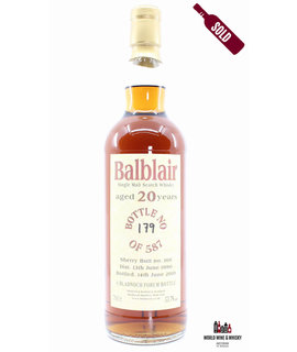 Balblair Balblair 20 Years Old 1990 2010 - Bladnoch Forum - Cask 166 53.7%