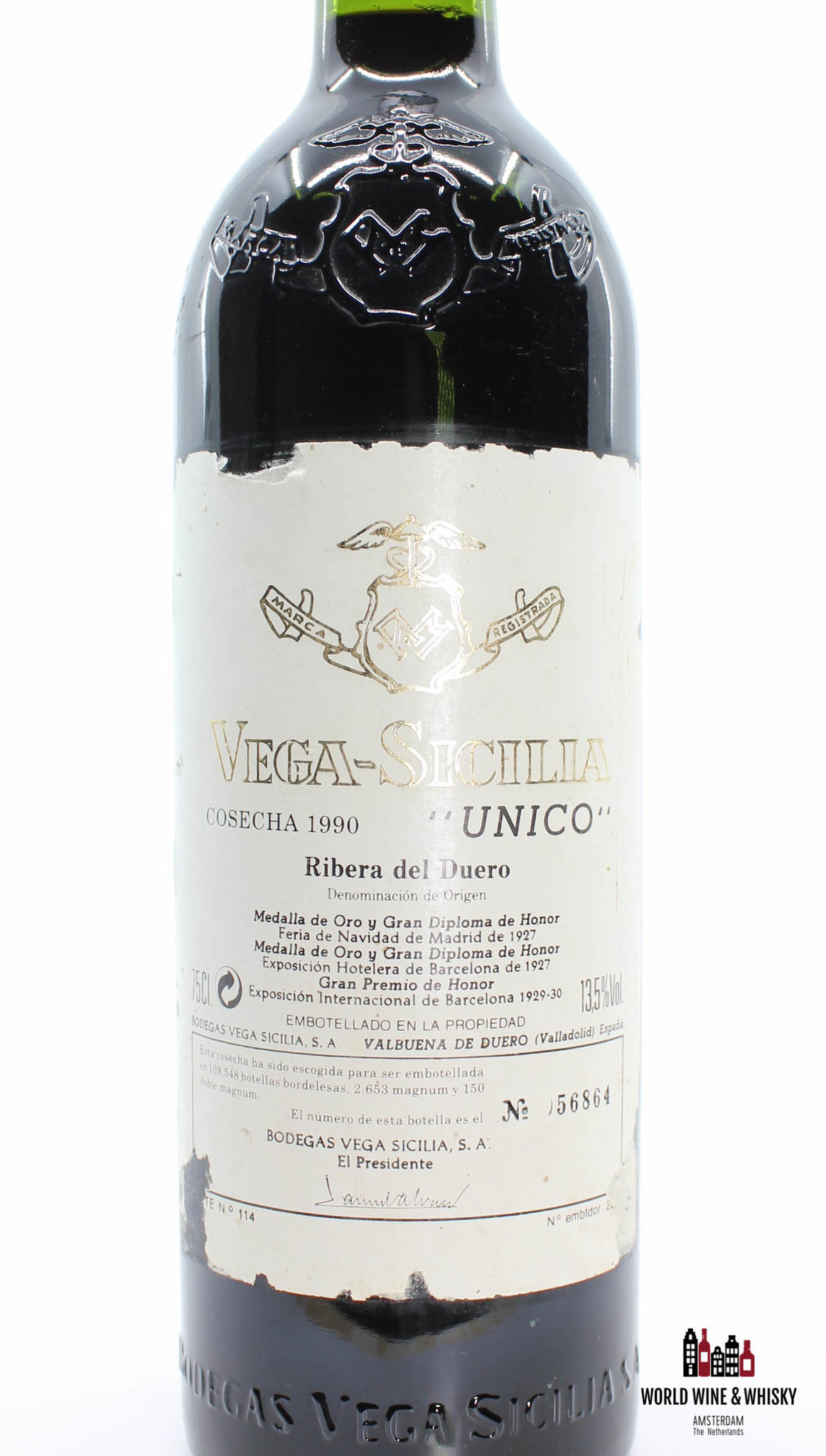 Vega-Sicilia Vega Sicilia Unico - Ribera del Duero 1990