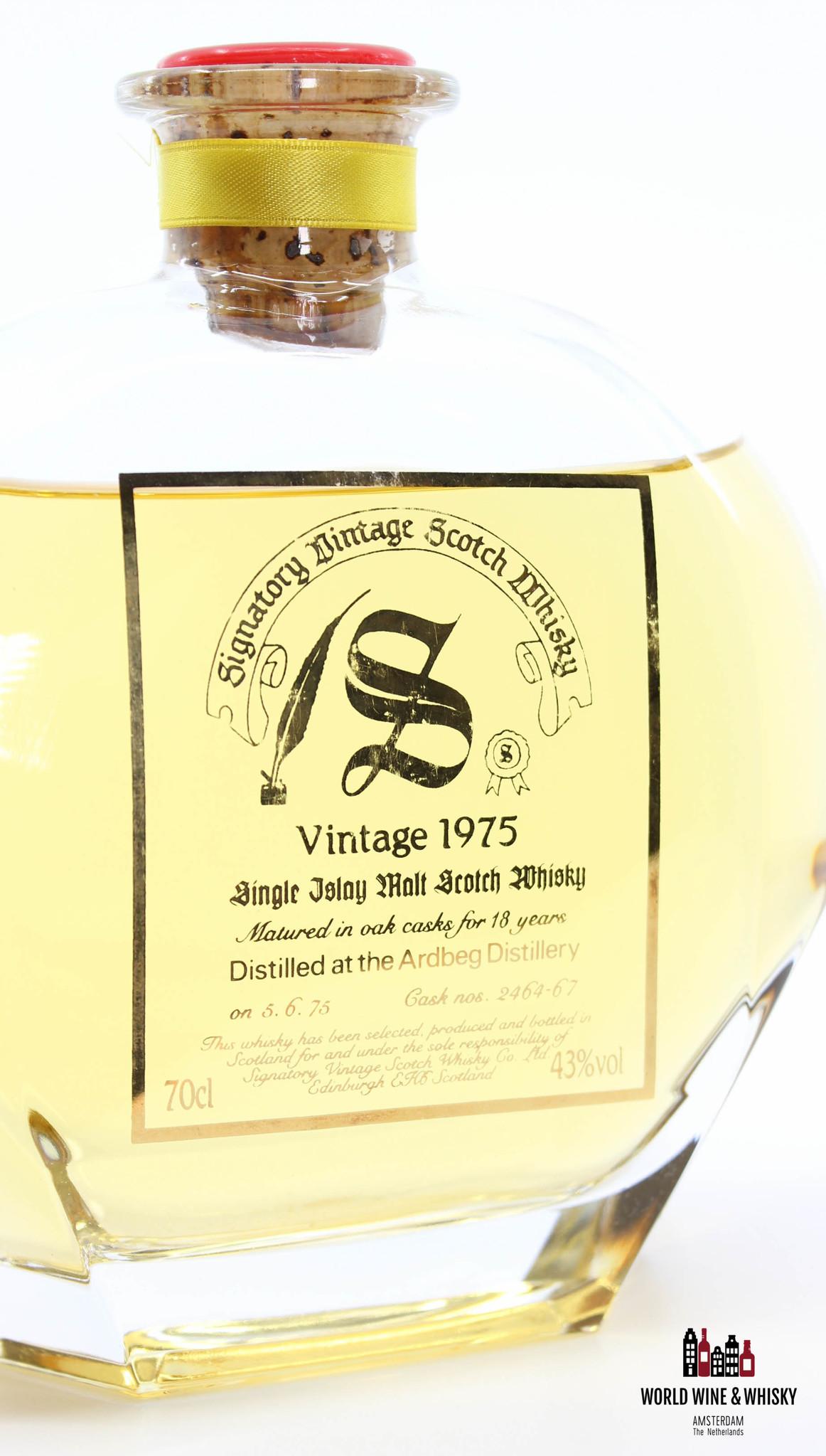 Ardbeg Ardbeg 18 Years Old 1975 1993 Decanter Collection - Signatory Vintage - Cask 2464-67 43%