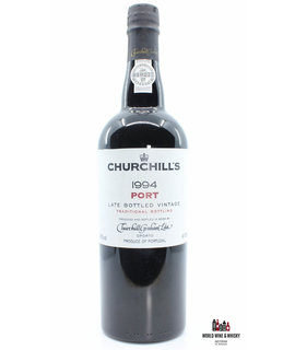 Churchill's Churchill's 1994 Port LBV - bottled in 2000 - Late Bottled Vintage