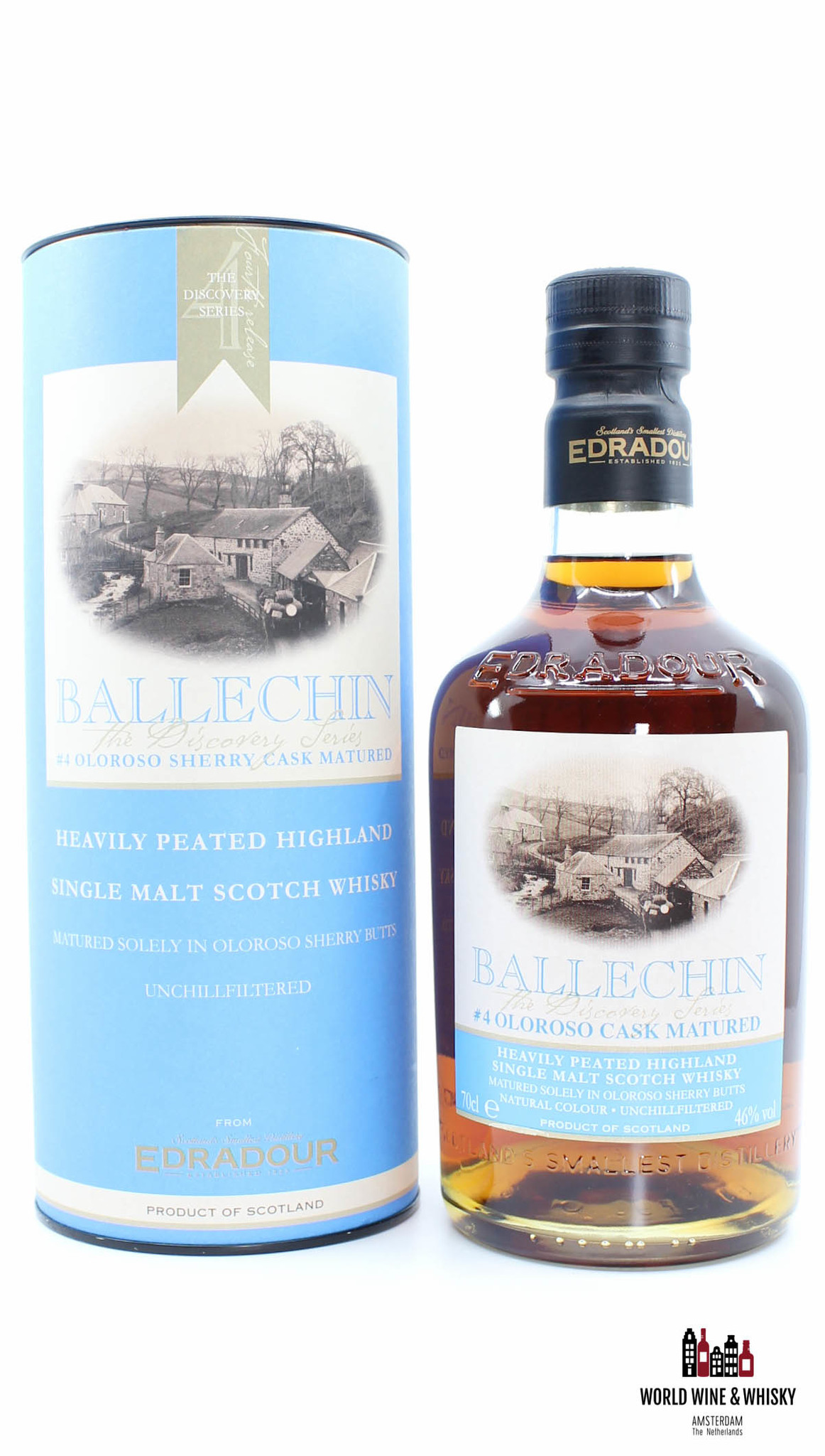 Edradour Edradour Ballechin Batch 4 - The Discovery Series - Oloroso Cask Matured 2009 46% (#4)