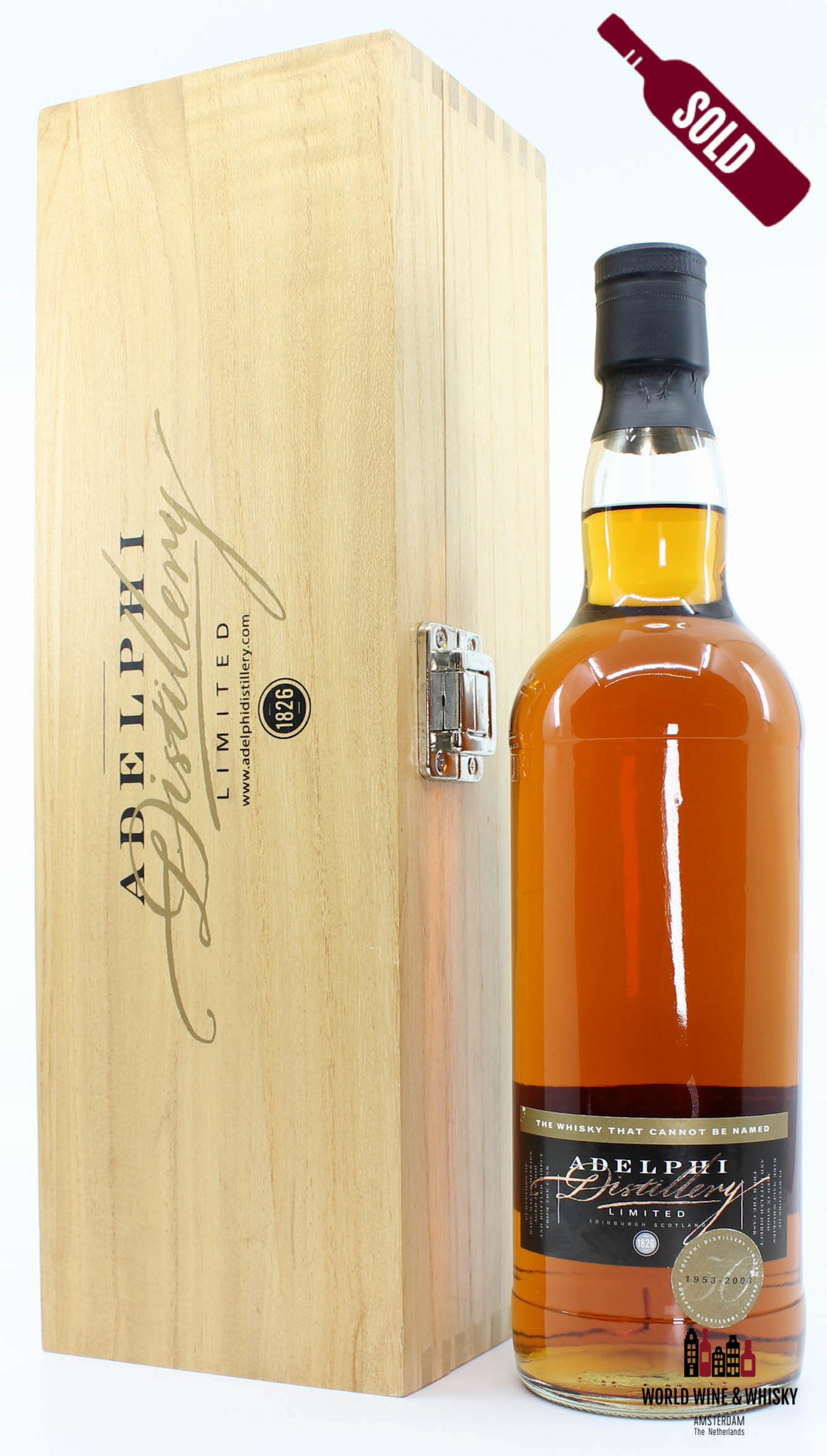 Adelphi  Adelphi 50 Years Old 1953 2003 The whisky that cannot be named - Cask 1668 54.3%